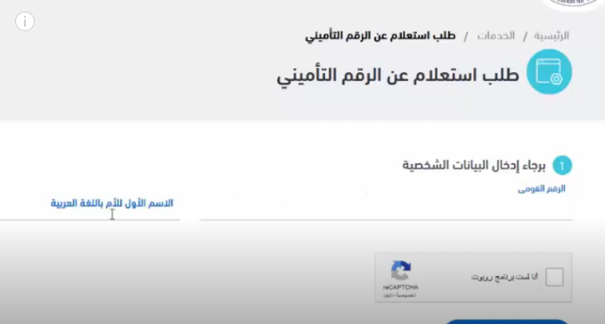 التسجيل في موقع الهيئة القومية للتأمين الاجتماعي